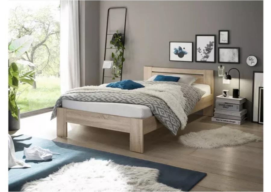 twijfelaar bed mandy 120 x 200 cm wit met matras fort netbed