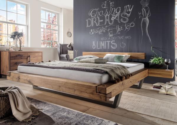 Massief Houten Bed 140x200.Massief Houten Bed Vidal 200 X 200 Cm Eiken Netbed