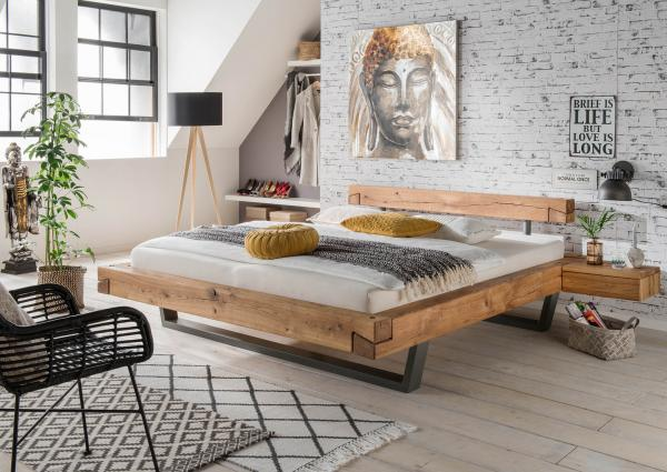 Bed 140x200 Hout.Solid Wood Bed Serge 140 X 200 Cm Oak Netbed