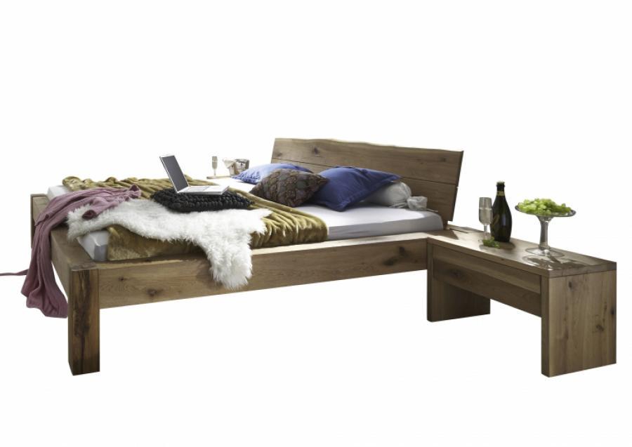 Massief houten bed ingrid 140 x 200 cm beuken netbed - Massief houten platform bed ...
