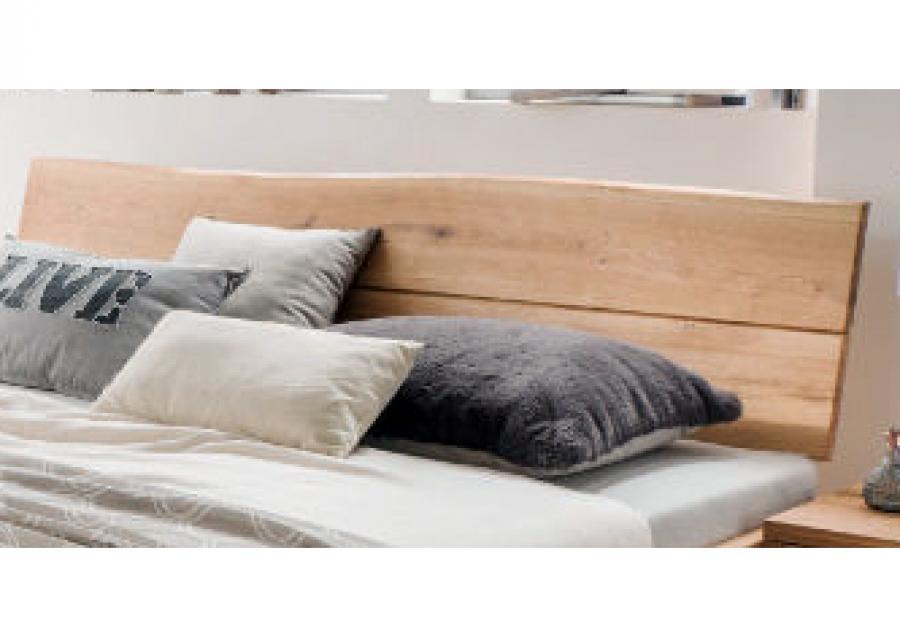 Massief houten bed vic 140 x 200 cm eiken netbed - Massief houten platform bed ...
