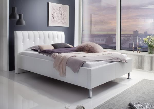 Twijfelaar bed vera cm wit netbed