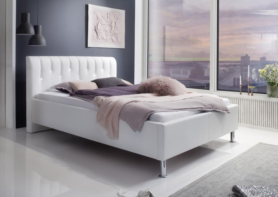 Twijfelaar bed vera 120 x 200 cm wit netbed