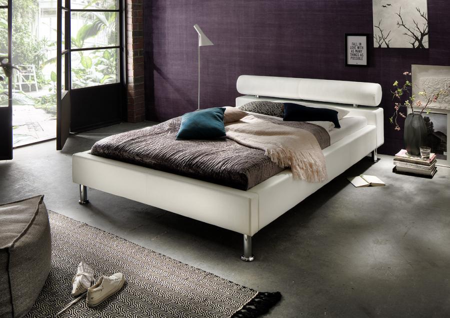 twijfelaar bed veronique 120 x 200 cm wit netbed